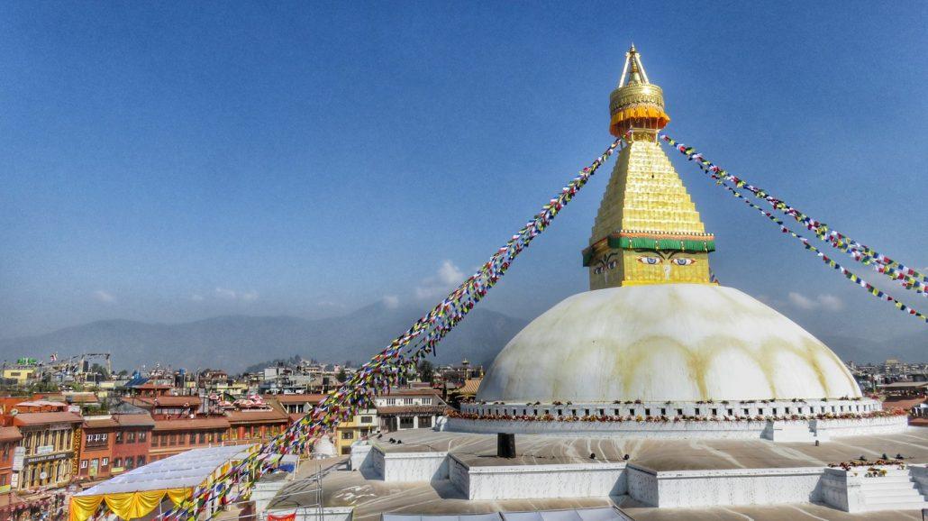 stupa Bodnat, Nepal