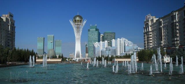 Stol Baiterek, Kazahstan