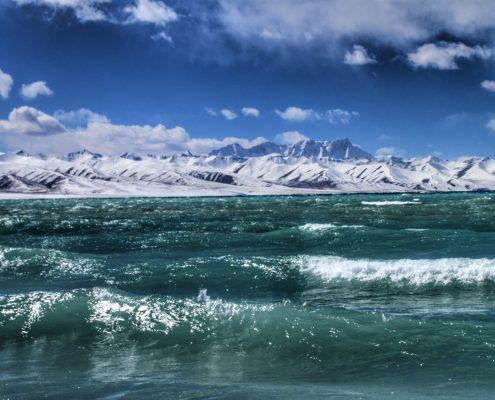 Jezero Nam Tso, Tibet
