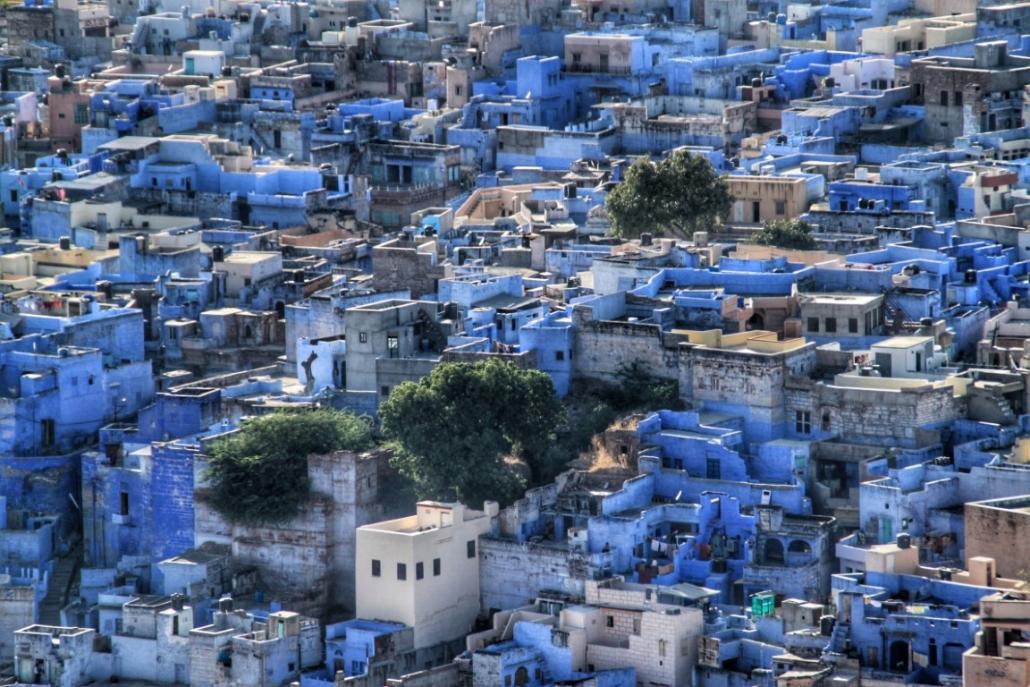 Modro mesto, Radžastan
