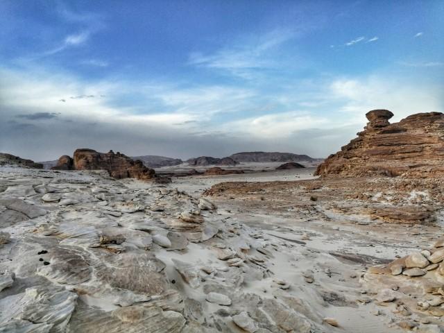 Neskončna sinajska puščava