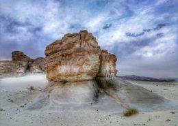 Brezčasna sinajska puščava