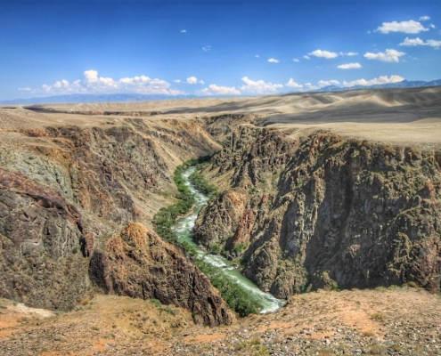 reka Charyn, Kazahstan