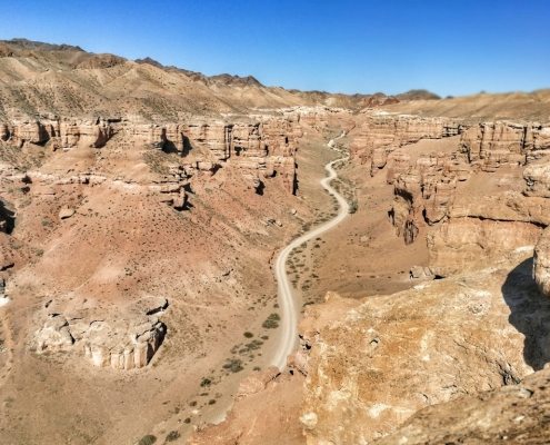 kanjon Charyn, Kazahstan