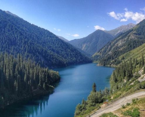 jezero Kolsai, Kazahstan