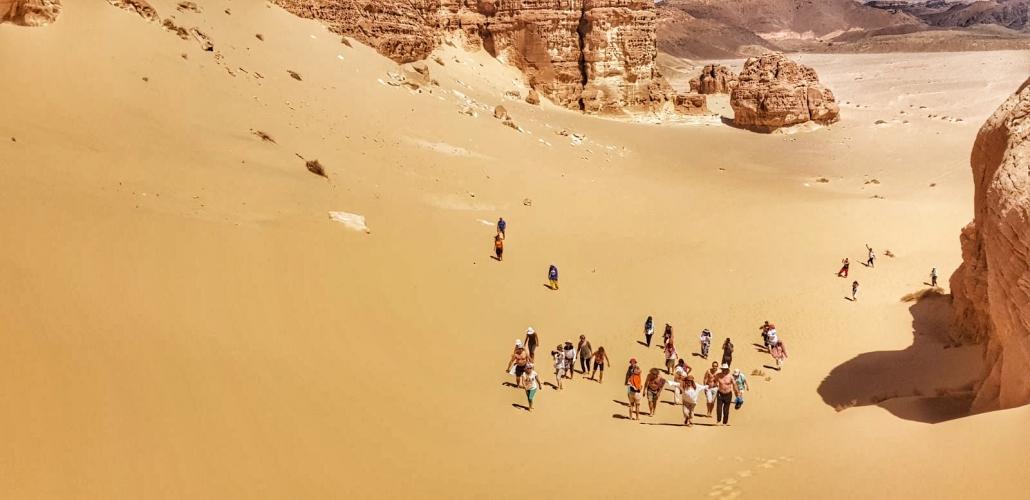 Sinajske sipine, Samsara potovanja