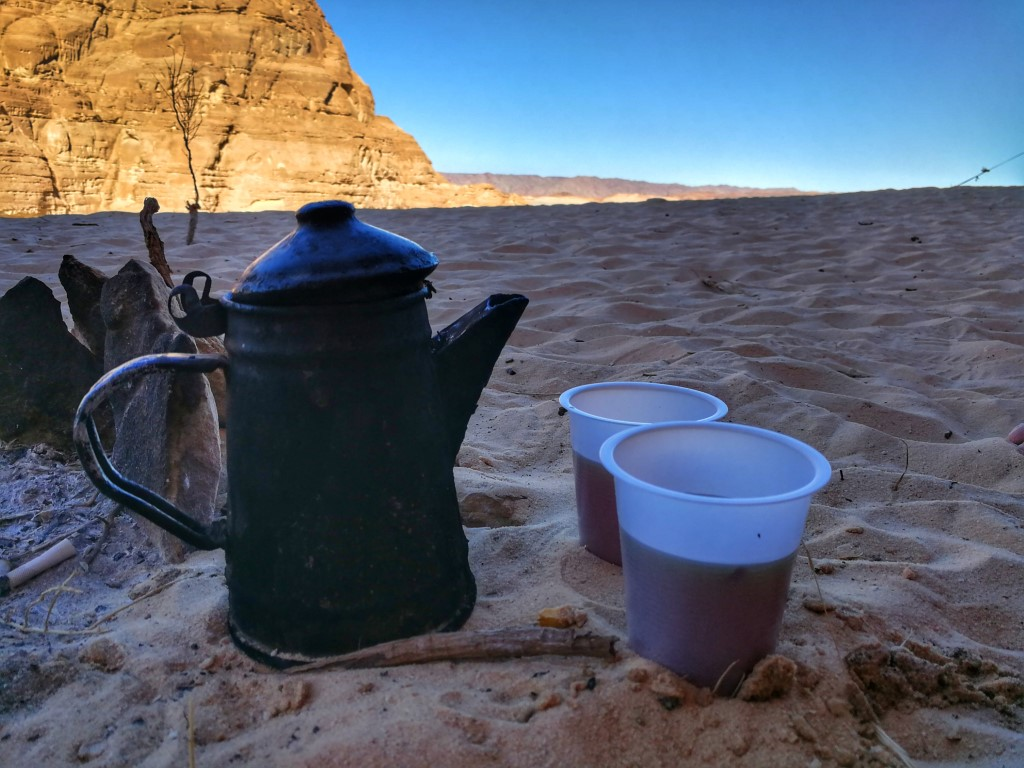Beduinski čaj na Sinaju