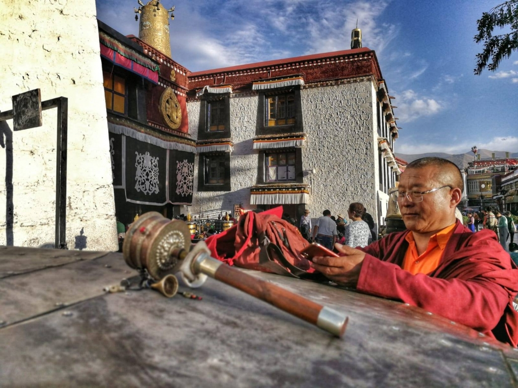 tempelj Jorkhang, Lhasa