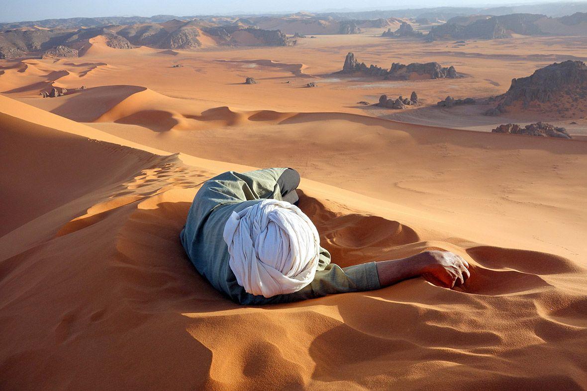 Alžirska puščava Sahara
