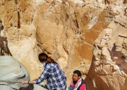Nina Slamnik na Sinaju