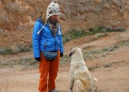 Nina Slamnik v Kapadokiji