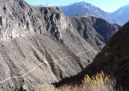 Treking po kanjonu Colca, Peru
