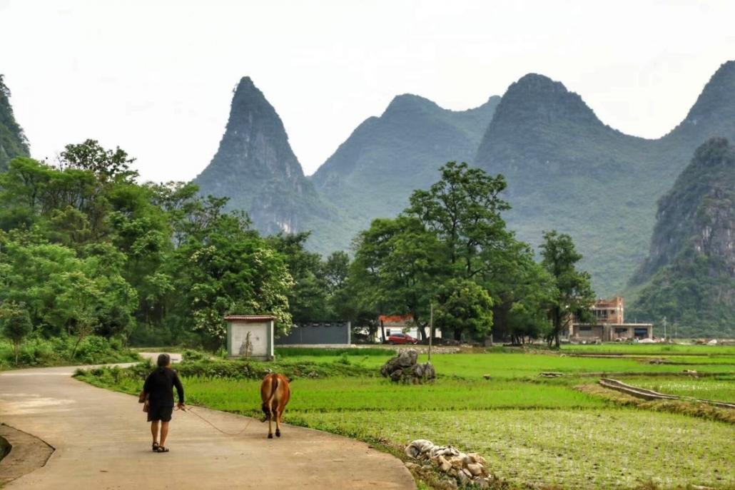 Južnokitajsko podeželje