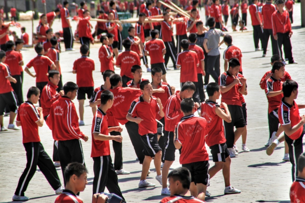 Šaolini v Dengfengu