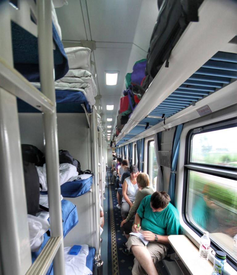 Potovanje s kitajskimi vlaki