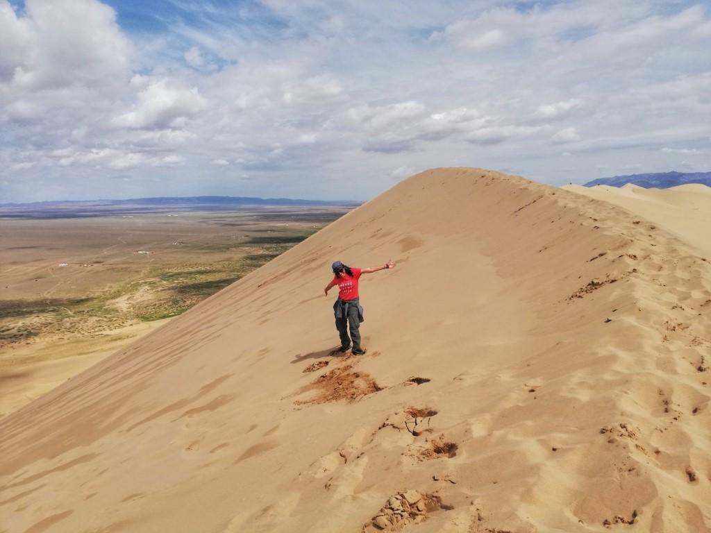 Helena Caf v Mongoliji
