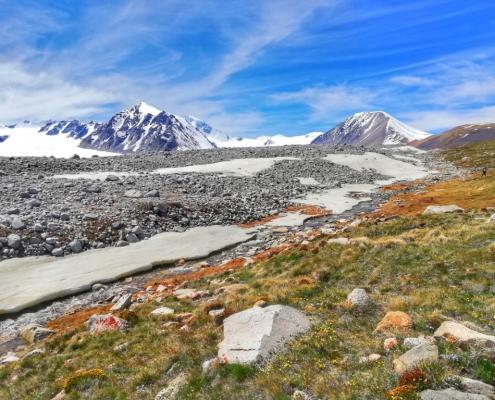 Treking po mongolskem Altaju