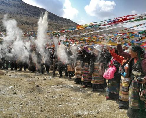 Festival Saga Dawa, Tibet