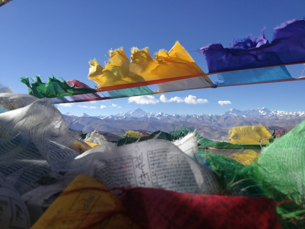 Bazni tabor Everest, Tibet