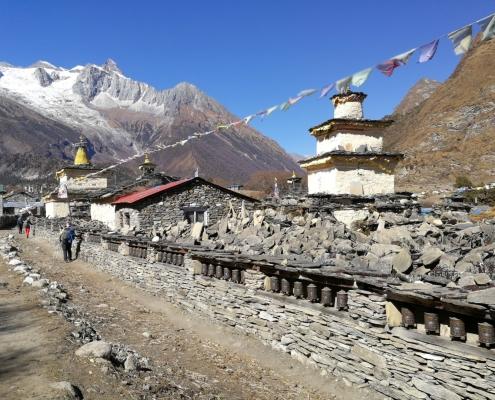 trek Manaslu, Nepal