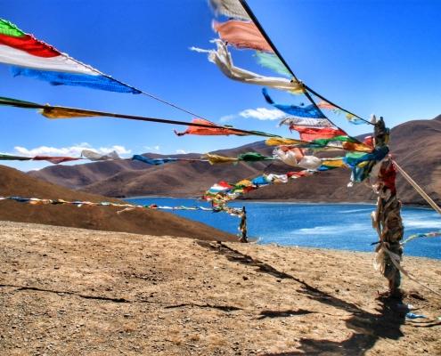 Škorpijonovo jezero na Tibetu