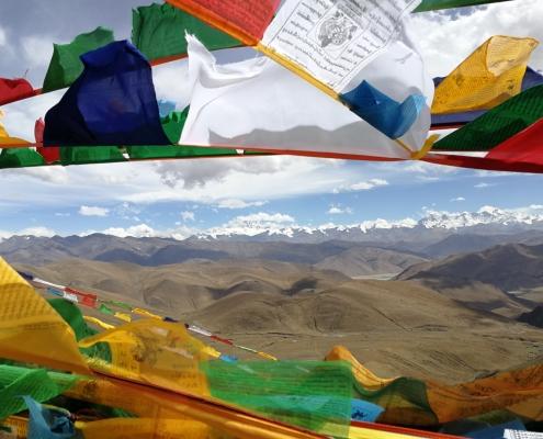 Bazni tabor Everest, Tibet