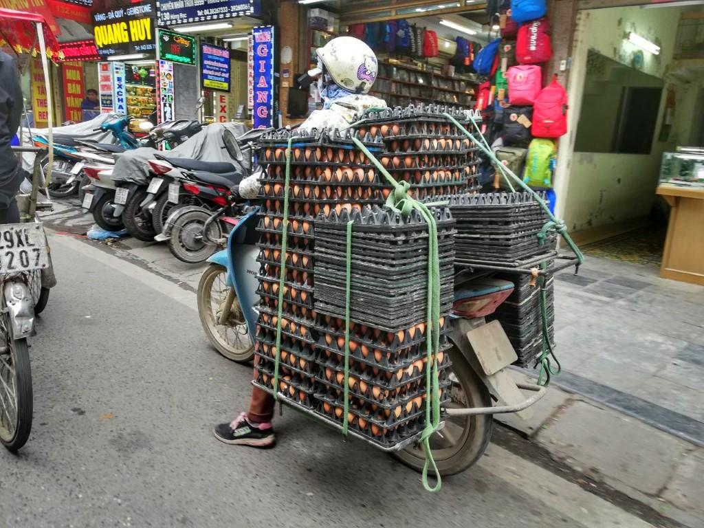 Premična tržnica, Vietnam
