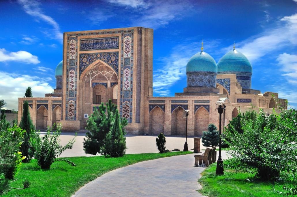 Registan v Samarkandu, Uzbekistan