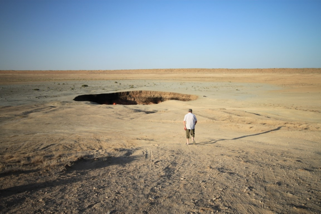 Vhod v pekel Darvaza, Turkmenistan
