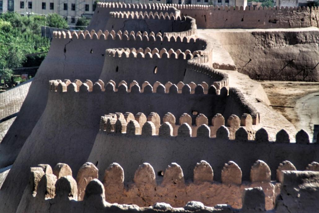 Osrednja Azija - Obzidje v Buhari, Uzbekistan
