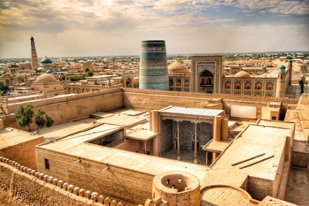 Osrednja Azija - Hiva v Uzbekistanu