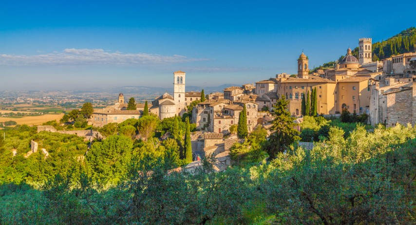 Assisi, Umbrija