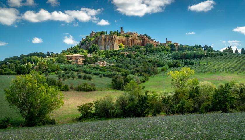 Orvieto v Umbriji