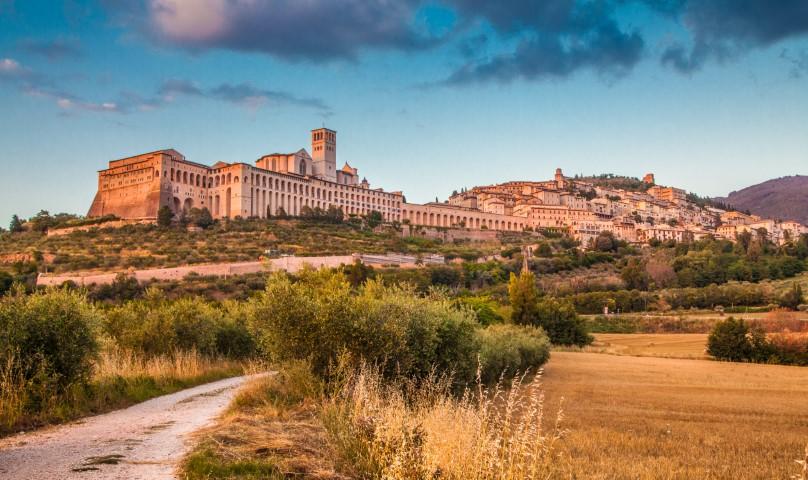Assisi - mesto Frančiška Asiškega