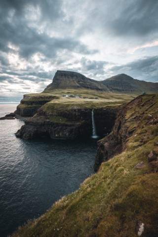 Gasadalur, Ferski otoki