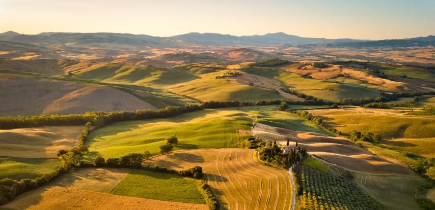 dolina Orcia, Italija