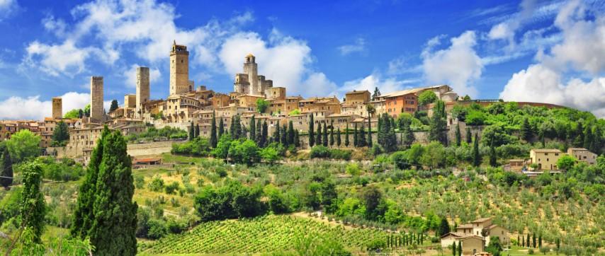 San Gimignano, Italija