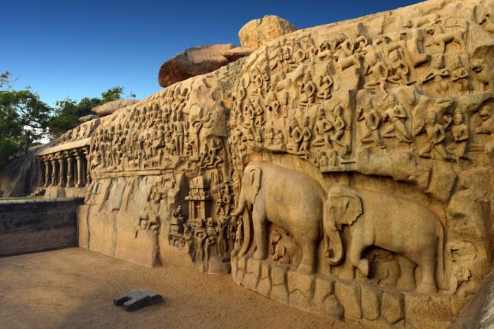 Mahabalipuram, Južna Indija