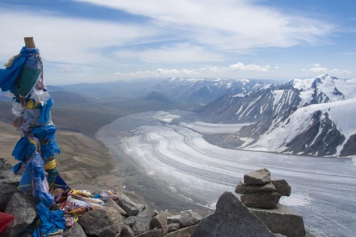 ledenik Potanin, Altaj Mongolija