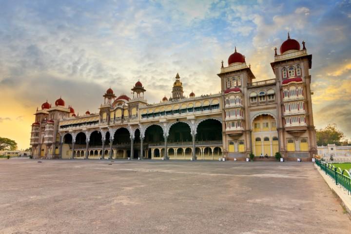 Palača v Mysore, Južna Indija