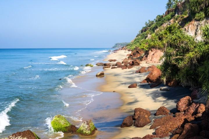 plaža v Varkali