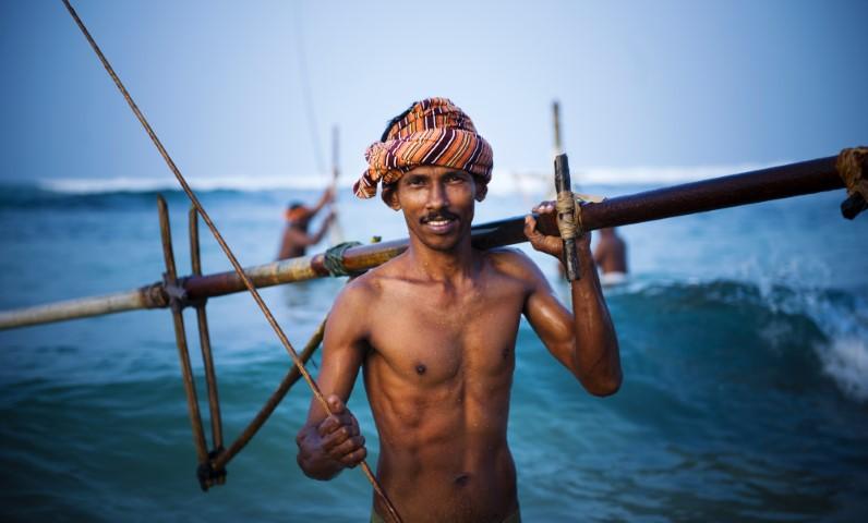 Šrilanški ribič, Samsara potovanja