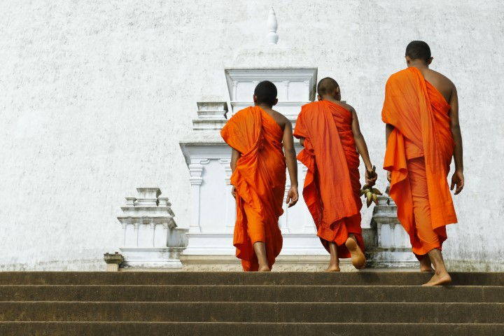 Stupa v Anuradhapuri, Šrilanka
