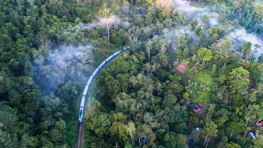 Vožnja z vlakom, Šrilanka