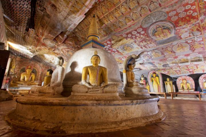 jama Dambulla, Šrilanka