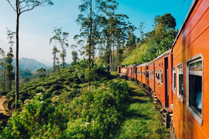 Najboljša vožnja z vlakom na Šrilanki
